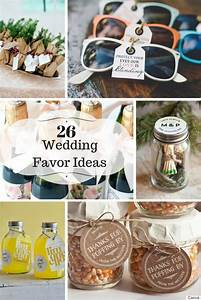 Wedding Gift Ideas For Guests 20 Great Wedding Favors For ...