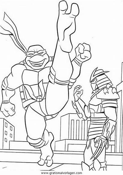 Ninja Turtles Coloring Tartarughe Colorear Tartarugas Imagenes