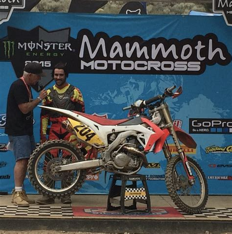 how to be a pro motocross rider pro privateer motocross rider david gassin suffers severe