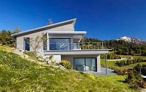Einfamilienhaus Hanglage Planen : fertighaus hanglage renggli ag haus pinterest ~ Lizthompson.info Haus und Dekorationen