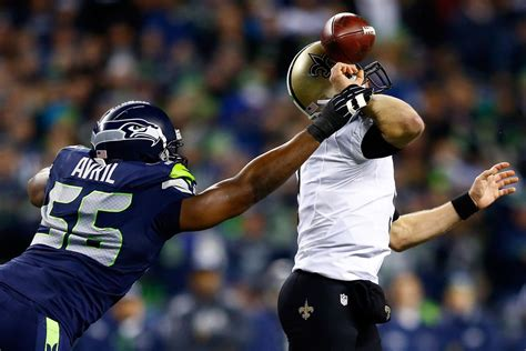 saints  seahawks monday night football score seattle