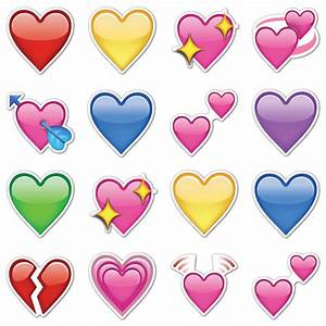 Heart Emojis by EmojiStickers com Fab com