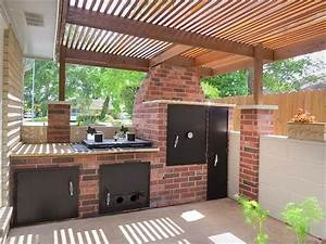 17 best ideas about outdoor smoker on pinterest meat With outdoor kitchen designs with smoker