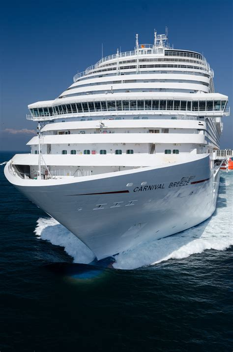 New Carnival Breeze Cruise Line Arrives In Miami