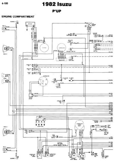 repair manuals isuzu p up 1982 wiring diagrams