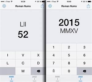 20 En Chiffre Romain : convertir les chiffres romains sur iphone slice42 ~ Melissatoandfro.com Idées de Décoration