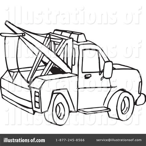 tow truck clipart  illustration  dennis holmes designs