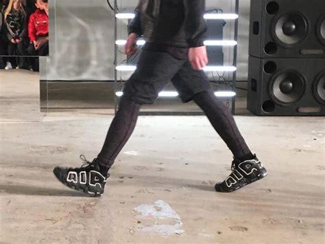 John Elliott Uses Nike Air More Uptempo for New York Fashion Week   Complex