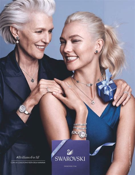 Karlie Kloss Swarovski Jewelry Campaign