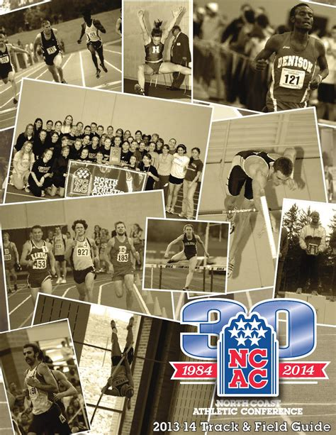 ncac track field guide  north coast athletic