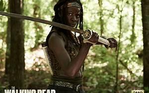 The Walking Dead Season 4: Michonne wallpapers | The ...