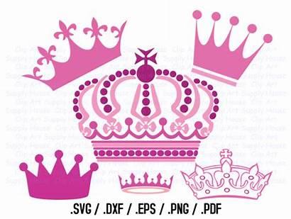Crown Svg Princess Silhouette Prince Clipart Cut