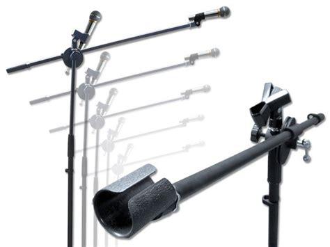 Mikrofonständer (2 Halter) Galgen Inklusive Klemmhalter