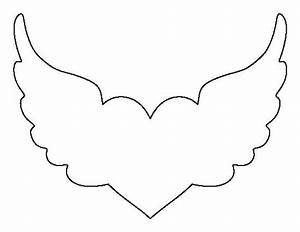 Angel Wing Cut Out Template crafts , the o'jays and wings ...