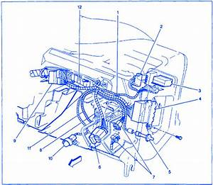Gmc Sonoma 2002 Dash Electrical Circuit Wiring Diagram