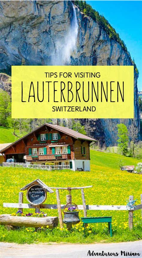 Magical Place Rocks by Lauterbrunnen Waterfalls The Most Magical Place In