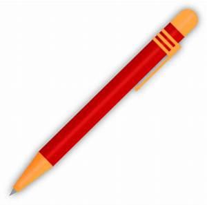 Red Ballpoint Pen Clip Art at Clker.com - vector clip art ...