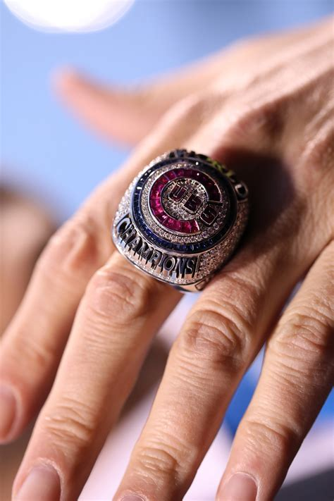 cubs ring ceremony saturated  history chicago tribune