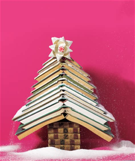 christmas crafts with used books 12 trees made out of books the sue
