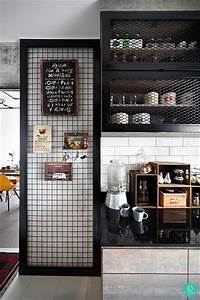 best 25 industrial kitchen design ideas on pinterest With kitchen cabinets lowes with wire mesh wall art