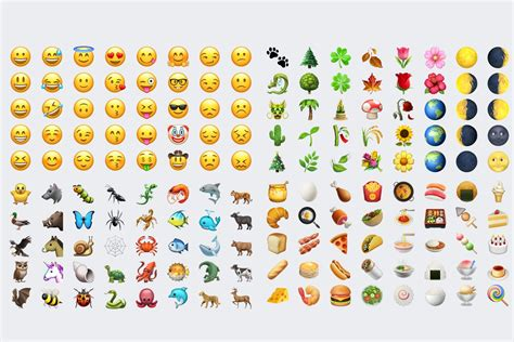 emojis iphone check out every single new emoji in ios 10 2 macworld
