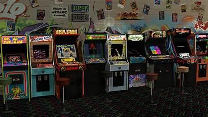 Arcade Machines Retro Gaming Classic Virtual Vr