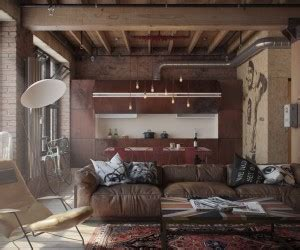 3 Stylish And Industrial Inspired Loft Interiors by 3 Stylish Industrial Inspired Loft Interiors