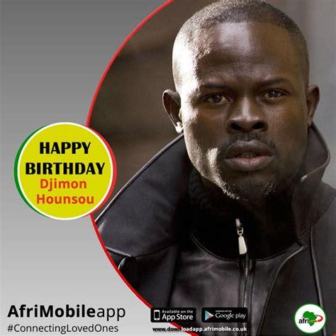 djimon hounsou birthday djimon hounsou s birthday celebration happybday to