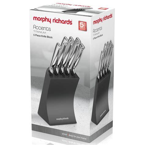 morphy richards knife block pk kitchen bm
