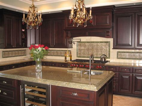 precious spanish tile   kitchen backsplash decohoms