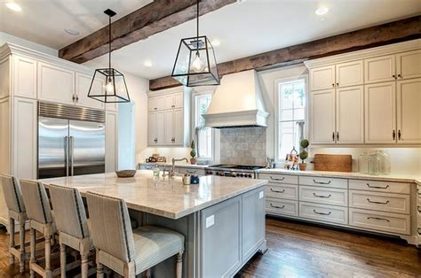 Reclaimed Wood Beams   Farmhouse   Kitchen   Houston   by