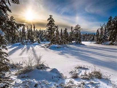 Winter Ontario Northern Bay Thunder Canada Wonderland