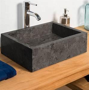 Marble, Stone, Sink, Rectangular, Grey, Basin, Ombakfurniture, Com