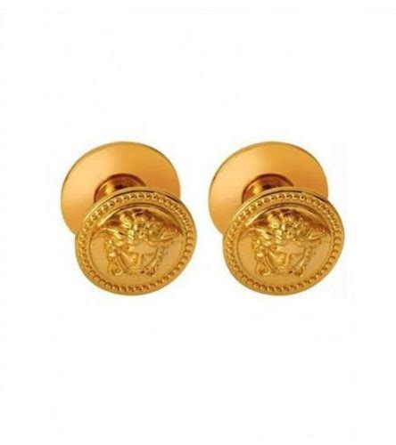 auth versace medusa paired  purpose cabinet knobs  gold finish victorian wall hooks