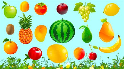 Fruits Names In English For Kids And Toddlers!