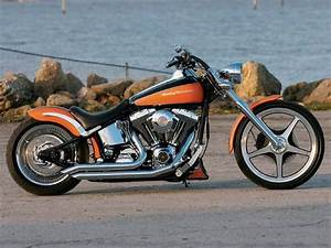 Sweet Orange - Softail Deuce