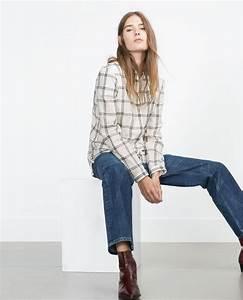 1000 idees a propos de chemise femme zara sur pinterest With zara femme chemise a carreaux