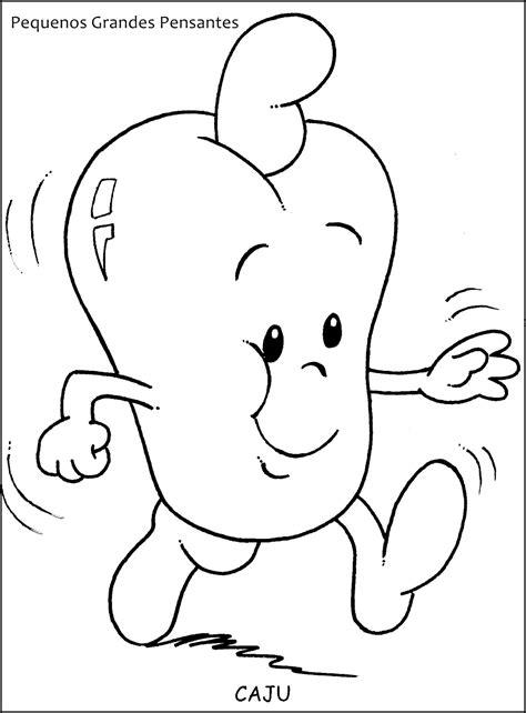 Pequenos Grandes Pensantes : Desenhos de frutas para
