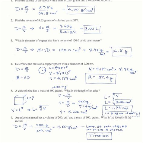 Mole Calculation Worksheet Answers Worksheets For School Mindgearlabs