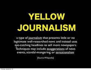 Can Free Speech... Journalism Definition