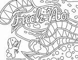 Coloring Swear Word Printable Adults Words Curse Getcolorings Fresh Adult Colorare Nerf Col sketch template