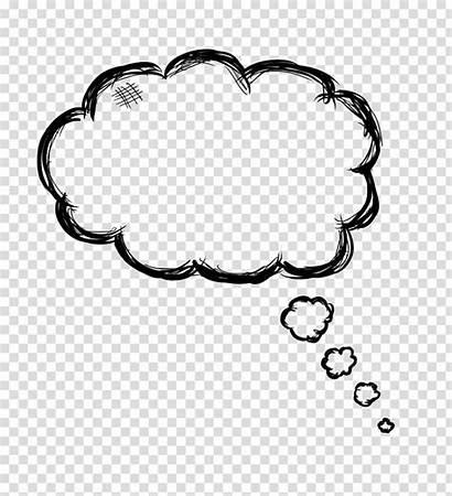 Bubble Thinking Thought Idea Transparent Clipart Inc