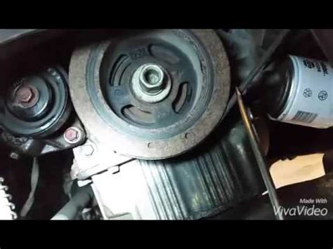 Hyundai Elantra Serpentine Belt Replacement Youtube