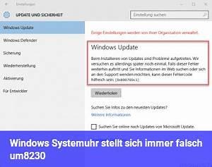 Funkuhr Stellt Sich Falsch : windows systemuhr stellt sich immer falsch um windows 10 net ~ Orissabook.com Haus und Dekorationen
