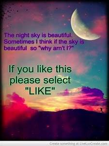 Quotes Beautiful Night Sky. QuotesGram