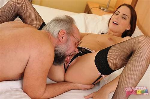 Sextreme Netowkr Brings You Grandpas Drilling Youthful #Lyen #Parker #In #Black #Stockings #Enjoying #Hot #Sex #With #Lucky