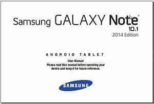 Samsung Galaxy Note 10 1 Manual  2014 Edition