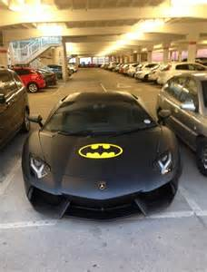 Lamborghini Batman Car