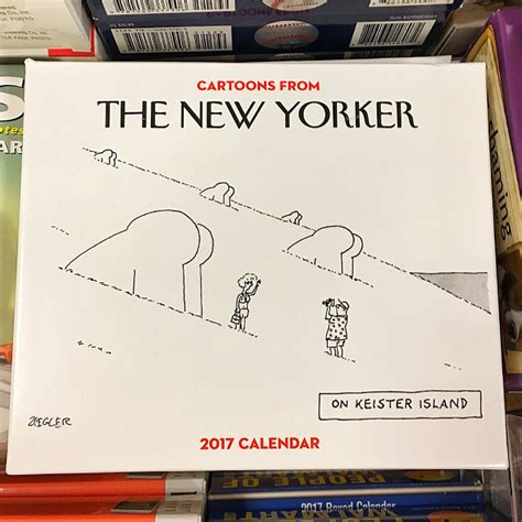 new yorker desk diary 2017 attempted bloggery from the new yorker 2017 calendar