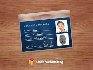 detektiv zubehor und deko selbst basteln ausweis vorlage With ausweisvorlage